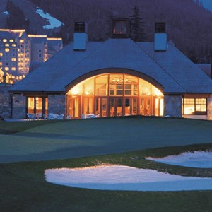 golf 5- fairmont chateau whistler - luxury canada holiday packages