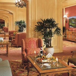 mcdonald foyer - fairmont chateau whistler - luxury canada holiday packages