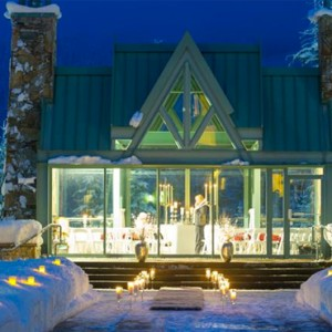 rooftop chapel - fairmont chateau whistler - luxury canada holiday packages