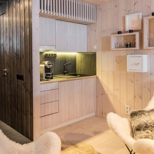 room - arctic treehouse hotel - luxury finland holiday pckages