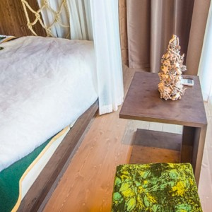 the designer suite - arctic treehouse hotel - luxury finland holiday pckages