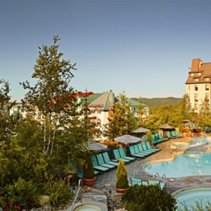 Exterior - Fairmont Tremblant - Luxury Canada Holiday Packages