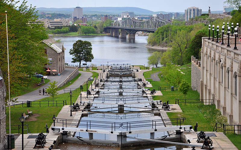 Rideau Canal The Most Beautiful Sights In Canada