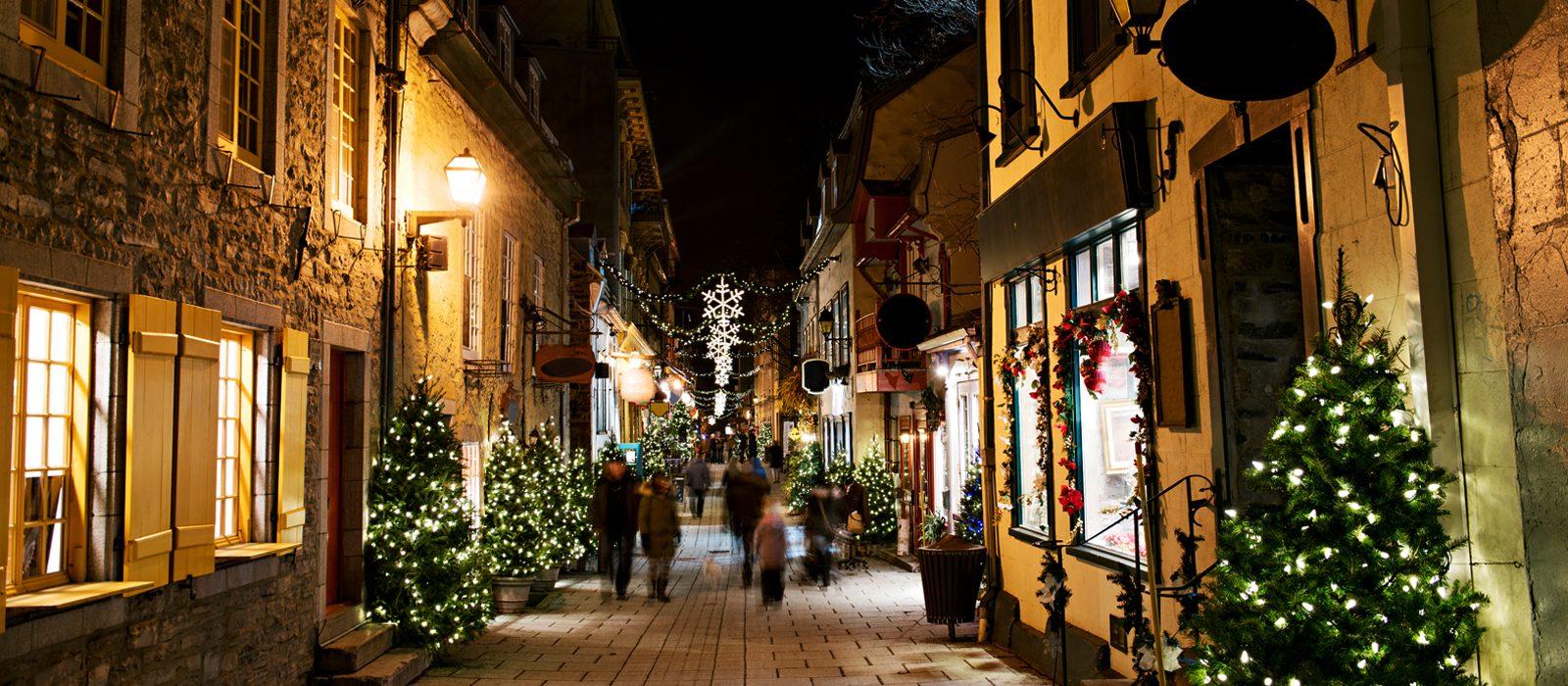 Top Five Christmas Destinations Header
