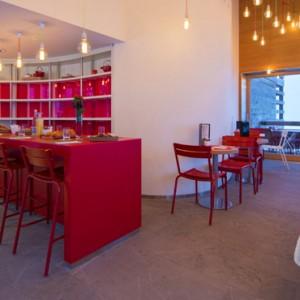 W cafe - w verbier - luxury ski resorts
