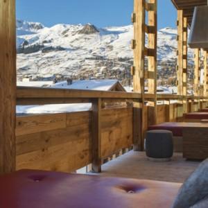 dining - w verbier - luxury ski resorts