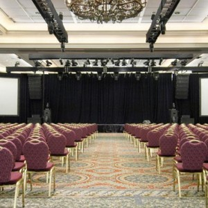 events room - Fairmont Banff Springs - luxury Canada Holiday Packages
