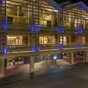 exterior 3 - w verbier - luxury ski resorts