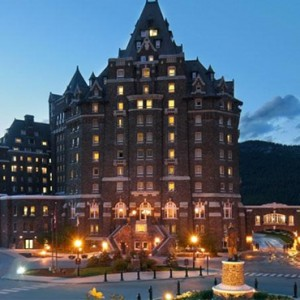 exterior - Fairmont Banff Springs - luxury Canada Holiday Packages