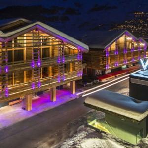 exterior - w verbier - luxury ski resorts