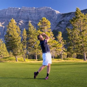 golf 2 - Fairmont Banff Springs - luxury Canada Holiday Packages