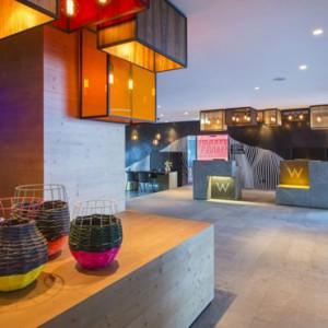 lobby - w verbier - luxury ski resorts