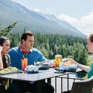 lookout terrace 2 - Fairmont Banff Springs - luxury Canada Holiday Packages