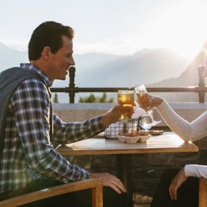 lookout terrace - Fairmont Banff Springs - luxury Canada Holiday Packages