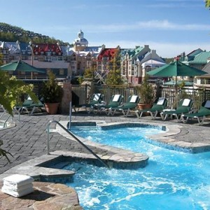 pool - Fairmont Tremblant - Luxury Canada Holiday Packages