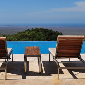 pool - Pikaia Lodge Galapagos - Luxury Galapagos Holiday Packages