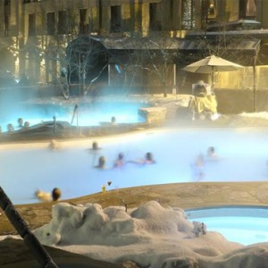 thermal springs - Fairmont Tremblant - Luxury Canada Holiday Packages