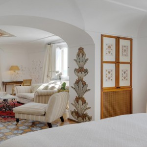 Le Sirenuse - Luxury Italy holiday Packages - Junior Suite Superior Sea View2