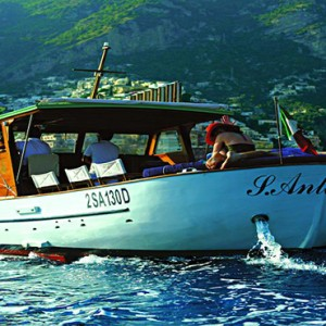 Le Sirenuse - Luxury Italy holiday Packages - boat