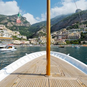 Le Sirenuse - Luxury Italy holiday Packages - boat ride