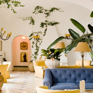 Le Sirenuse - Luxury Italy holiday Packages - lobby1
