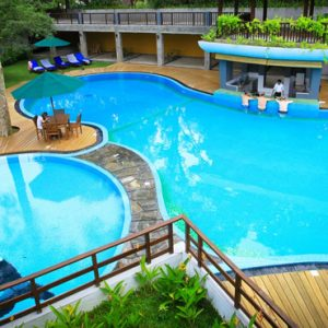 Luxury Sri Lanka Holiday Packages Grand Udawalawe Safari Resort Pool7