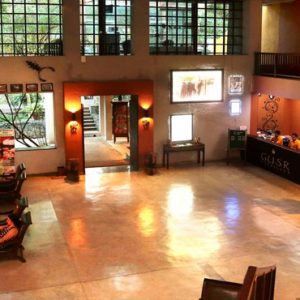 Luxury Sri Lanka Holiday Packages Grand Udawalawe Safari Resort Reception And Lobby