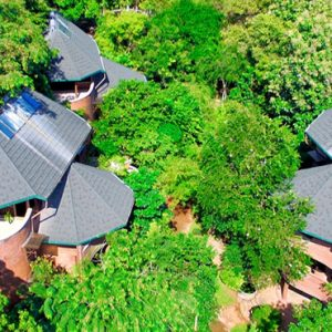 Luxury Sri Lanka Holiday Packages Grand Udawalawe Safari Resort Aerial View