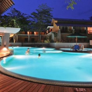 Luxury Sri Lanka Holiday Packages Grand Udawalawe Safari Resort Pool