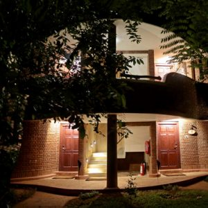 Luxury Sri Lanka Holiday Packages Grand Udawalawe Safari Resort Walkway At Night