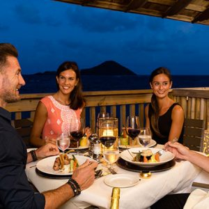 Luxury St Lucia Holiday Packages Coconut Bay Beach Resort And Spa Dining 14