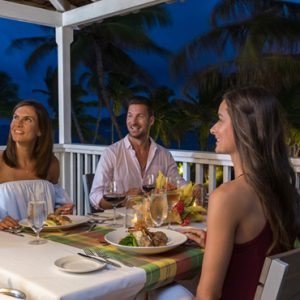 Luxury St Lucia Holiday Packages Coconut Bay Beach Resort And Spa Dining 5