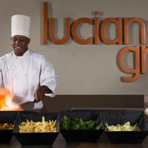 Luxury St Lucia Holiday Packages Coconut Bay Beach Resort And Spa Lucian Grille