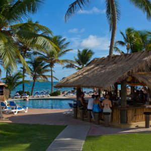 Luxury St Lucia Holiday Packages Coconut Bay Beach Resort And Spa Pool Bar