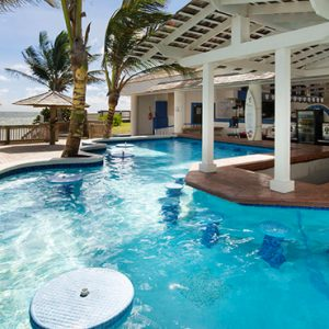 Luxury St Lucia Holiday Packages Coconut Bay Beach Resort And Spa Pool Bar 2