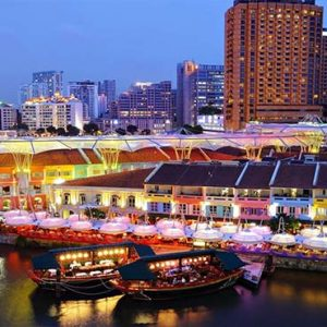 Park Hotel Clarke Quay Luxury Singapore Holiday Packages Location