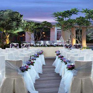 Park Hotel Clarke Quay Luxury Singapore Holiday Packages Wedding Setup