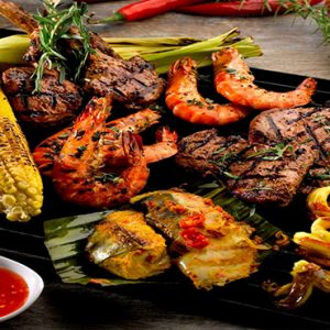 Park Hotel Clarke Quay Luxury Singapore Holiday Packages Weekend Bbq Party Cocobolo