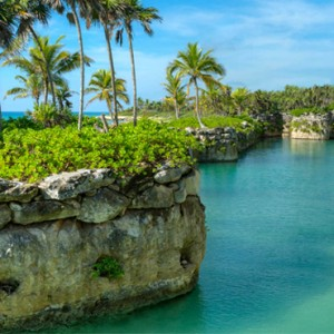 beach 2 - xcaret hotel mexico - luxury mexico holiday packages