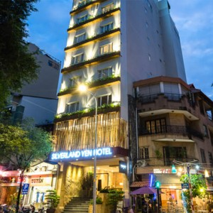 exterior 2 - silverland yeh hotel and spa - luxury vietnam holiday packages