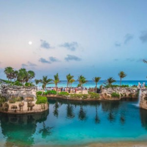 lagoon - xcaret hotel mexico - luxury mexico holiday packages