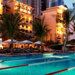 pool 2 - The Westin Dubai Mina Seyahi - Luxury Dubai holiday packages