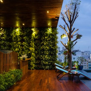 rooftop pool 2 - silverland yeh hotel and spa - luxury vietnam holiday packages