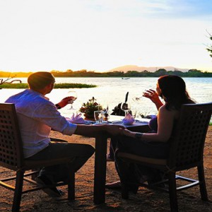 Cinnamon Lodge Habarana - Luxury Sri Lanka Holiday Package - Candle lit dining