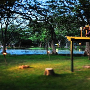 Cinnamon Lodge Habarana - Luxury Sri Lanka Holiday Package - Treehouse dining