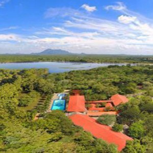 Cinnamon Lodge Habarana - Luxury Sri Lanka Holiday Package - aerial view
