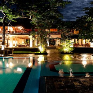 Cinnamon Lodge Habarana - Luxury Sri Lanka Holiday Package - exterior at night