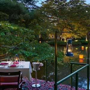 Cinnamon Lodge Habarana - Luxury Sri Lanka Holiday Package - private dining