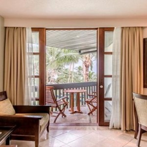 The Warwick Fiji - Fiji holiday Packages - Warwick Deluxe Rooms porch