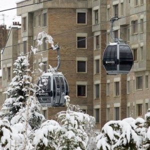 cable car - Hotel Val de Neu - Luxury Ski Holiday Packages